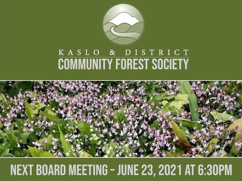 Next Board Meeting – June 23, 2021 at 6:30pm